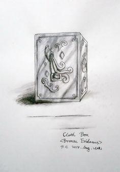My paintings——<Saint Seiya>Hand painted.My own design Saint---Eridanus Bronze Saint Hannell. 2014.8.25晚完成了-汉娜尔的圣衣箱([自己人设].水性笔+水彩笔)。10岁时与身患心脏病的父亲到勒斯特群岛上度假,后来其父病发身亡,她被在岛上修行的巨爵座白银圣斗士卡利恩斯捡到并被其带大、培养成圣斗士。绝招:女神之泪、曙光裁决。 (Eridanus Cloth Box)