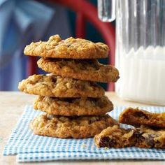 Chewy Oatmeal Cookies Recipe from Taste of Home