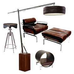 mad men furniture. cool furniture for the ultra mad men office e
