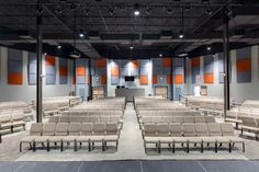 Warren Baptist Church Grovetown Campus Worship Center - Augusta, GA (designed by a partner at Equip Studio while at a previous firm).
