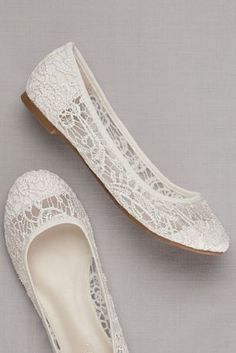 Crochet flats are both stylish and functional! Ballet flats feature stunning crochet detail. Fully lined. Imported. Imported