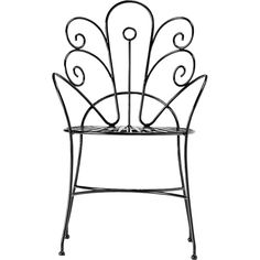 Shop peacock chair.   Fanciful perch designed by Ayush Kasliwal brings a refined vintage vibe to the patio.  Handmade solid iron with black glossy powdercoat achieves the perfect curves through a manual hand-bending process.  Learn about  on our blog.