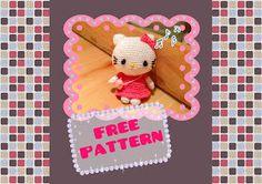 free hello kitty amigurumi crochet pattern