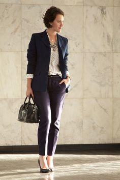 Look para trabalho - terno #LookSocialSemSerChato