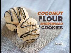 Coconut Flour Shortbread Cookies | Paleo, Grain Free, Gluten Free