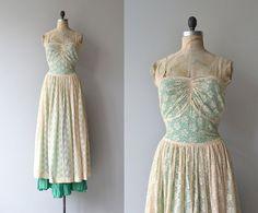 Abschied von Jahr Kleid 1930er Jahre Vintage Kleid von DearGolden