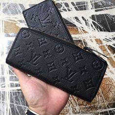 6926f51c277a Louis Vuitton M60171 Clemence Wallet Monogram Empreinte Leather