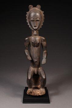 Baule Blolo Bian Figure Ivory Coast