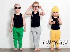 Colorful Simplicity of Gugguu – New Kidswear Brand from Finland