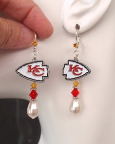 c4b435375b3 8 Best KC Chiefs Jewelry images in 2019