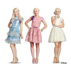 Dove Cameron looks amazing in all of them! Dove Cameron looks amazing in all of them! Descendants Wicked World, Disney Channel Descendants, Descendants Costumes, Descendants Cast, Dove Cameron Descendants, Dove Cameron Style, Mal And Evie, High School Musical, Cute Outfits