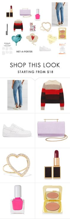 """""""Net-a-Porter Fashion Outfit"""" by ibur-7snowflakes ❤ liked on Polyvore featuring 3x1, rag & bone, NIKE, M2Malletier, Jennifer Meyer Jewelry, Tom Ford, tenoverten and Chantecaille"""