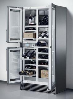 I'd settle for a wine fridge like that someday