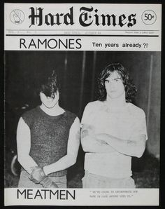 Glenn Danzig and Henry Rollins, Hard Times zine 1984