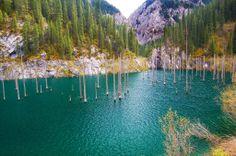Lake Kaindy – Kazakhstan's Sunken Forrest ~ Kuriositas