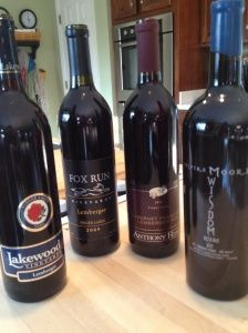 Finger Lakes Wine Alliance presents ~ Virtual Tasting Series ~ An Evening ofRed via @Eileen Gross