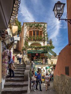 Positano Interior View Amalfi Coast, Italy