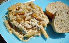 Chicken Penne Rustica- freezer meal  WOW! This was GREAT! The sauce was enough for THREE 2-person meals.