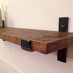 Image result for industrial wall shelves