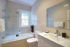 A classic bathroom renovation in Sydney. Bathroom Ideas Uk, Budget Bathroom, Bathroom Renos, Bathroom Renovations, Old Bathrooms, Guest Bathrooms, Small Bathroom, Classic Bathroom, Modern Bathroom Design