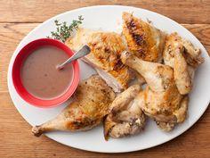 Broiled, Butterflied Chicken