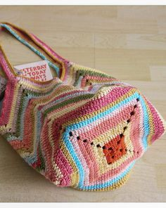 """Crochet beach bag Crochet market bag multicolor Crochet bag """"Crochet Patterns Bag This wonderful crochet bag is the perfect accessory for your summer outfi Crochet Beach Bags, Bag Crochet, Crochet Shell Stitch, Crochet Market Bag, Crochet Handbags, Crochet Purses, Crochet Summer, Bag Pattern Free, Bag Patterns To Sew"""