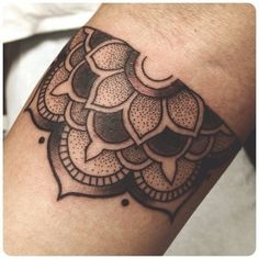 8 Beautiful & Intricate Half Mandala Tattoos | Tattoodo.com