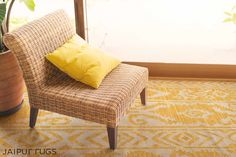 Fusion of modern and ethnic! This #weekend we bring to you one of our favourite rug in shunshine yellow from Urban Bungalow collection. #JaipurRugs #Handmade #Interiors #InteriorDesign #InteriorDecor #HomeDecor #Fashion #HomeStyling #Designer #BeautifulHomes #Trends #Carpets #Luxury #Lifestyle #Chic #Decor #FashionBloggers #Design #LivingSpace #DesignInspo #Rugs #Contemporary #ModernHomes #Love #Bohemian #Architects #Textiles #DesignInspire #Spring #Weekend #Summers #interiorblog…