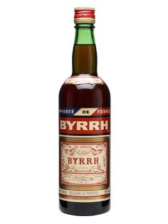 Byrrh Aperitif / Bot.1970s : Buy Online - The Whisky Exchange - An old bottle of Byrrh's still popular wine based aperitif. We think this was produced in the 1970s.