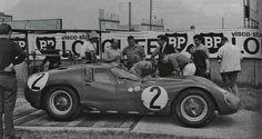 1964 Le Mans 24h,Maserati Tipo 151/3 nr2 (Trintignant-Simon)