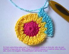 Hiboux colorés , pas à pas en images ! Easy Crochet Patterns, Cross Stitch Patterns, Crochet Turtle, Chrochet, Tatting, Diy And Crafts, Crochet Earrings, Applique, Embroidery