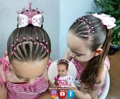 Girl Hair Dos, Foods With Calcium, Canal No Youtube, Pinterest Hair, Long Braids, Creative Hairstyles, Toddler Hair, Little Girl Hairstyles, My Little Girl