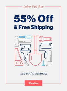 55% OFF & FREE SHIPPING