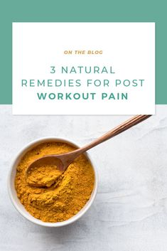 If muscle soreness is holding you back from reaching your fitness goals, read this. With these three natural remedies, you can keep crushing those fitness goals. Post Workout Shake, Post Workout Smoothie, Weight Loss Snacks, Healthy Weight Loss, Help Losing Weight, Lose Weight, Ginger Supplement, Post Workout Supplements