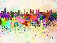 Barewalls has high-quality art prints, posters, and frames. Art Print of Toronto skyline in watercolor background. Search 33 Million Art Prints, Posters, and Canvas Wall Art Pieces at Barewalls. Canvas Artwork, Artwork Prints, Poster Prints, Canvas Prints, Posters, Poster Wall, Art And Illustration, Illustrations, Skyline Madrid