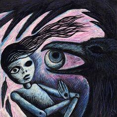 Crow and Doll: Vikki Yeates