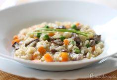 Risoto de Mignon com Vegetais ~ PANELATERAPIA - Blog de Culinária, Gastronomia e Receitas