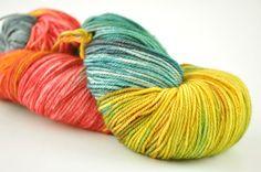 Handmaiden Fine Yarn - Casbah Sock  Masala