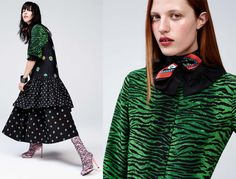 H&M + KENZO Lookbook - More looks of the collaboration #KENZOxHM featuring #SelenaForrest, #HaoLiu, #JulianaHuxtable & #YoungjunKoo. See the #Lookbook Image_0004