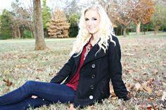 Fall senior session Arkansas