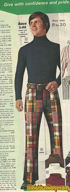 Not all criminals got incarcerated, 70s #fashion #mockery