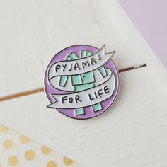 Are you interested in our pyjamas enamel pin funny? With our pin collector pyjama life you need look no further.