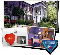 Elvis Presley's Heartbreak Hotel - Love me tender package!