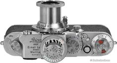Leica IIIf (1950-1957) I love the graphics on these beautiful old machines.