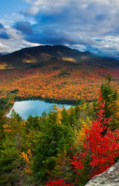 Heart Lake at Adirondack State Park in New York • photo: Michael Melford on National Geographic