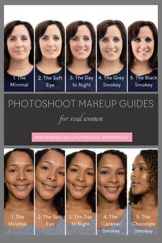 Do I need to wear makeup for my branding photoshoot? [ Photoshoot Makeup Guide Part I) - Marcela Macias Photography Cool Undertones, Warm Undertone, Photoshoot Makeup, Makeup Guide, Dark Skin, Girl Boss, Makeup Yourself, Business Women, About Me Blog