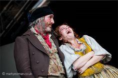 Cameron Blakely (Thénardier) and Linzi Hateley (Madame Thénardier) Copyright Mark Yeoman 2011 #theatre #lesmis #musicals www.lesmis.com