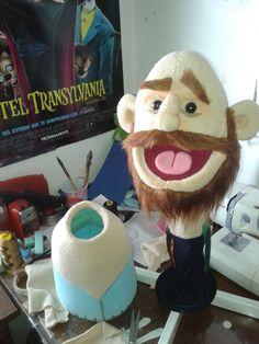 process: Marionette Puppet, Sock Puppets, Hand Puppets, Custom Puppets, Types Of Puppets, Puppets For Kids, Puppet Patterns, Puppet Show, Puppet Making