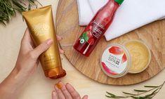 Oriflame Brojce i Wellness: Złuszczanie Voss Bottle, Water Bottle, Oriflame Cosmetics, Body Wash, Energy Drinks, Red Bull, Beverages, Spa, Wellness