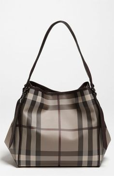 I'm a Burberry freak by the way... Burberry 'Smoked Check' Tote available at #Nordstrom